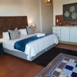 2 pax bed and kitchenette