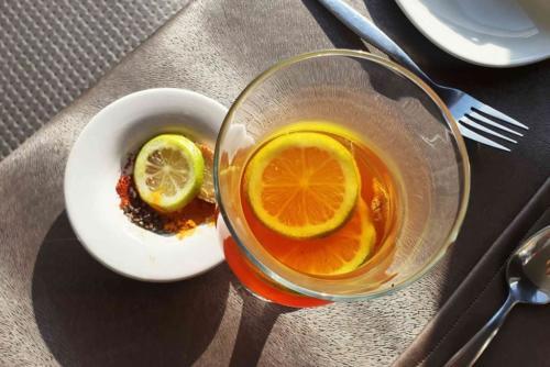 Crystal Lagoon Lodge Immunity strengthening Rooibos & Lemon