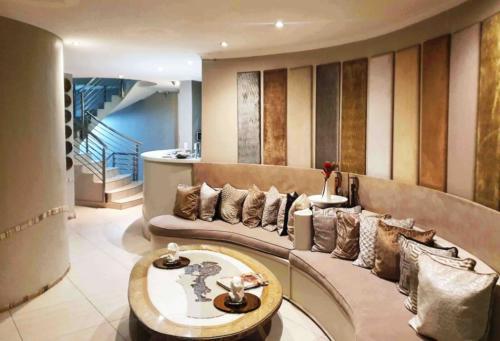 Crystal Lagoon Lodge reception area